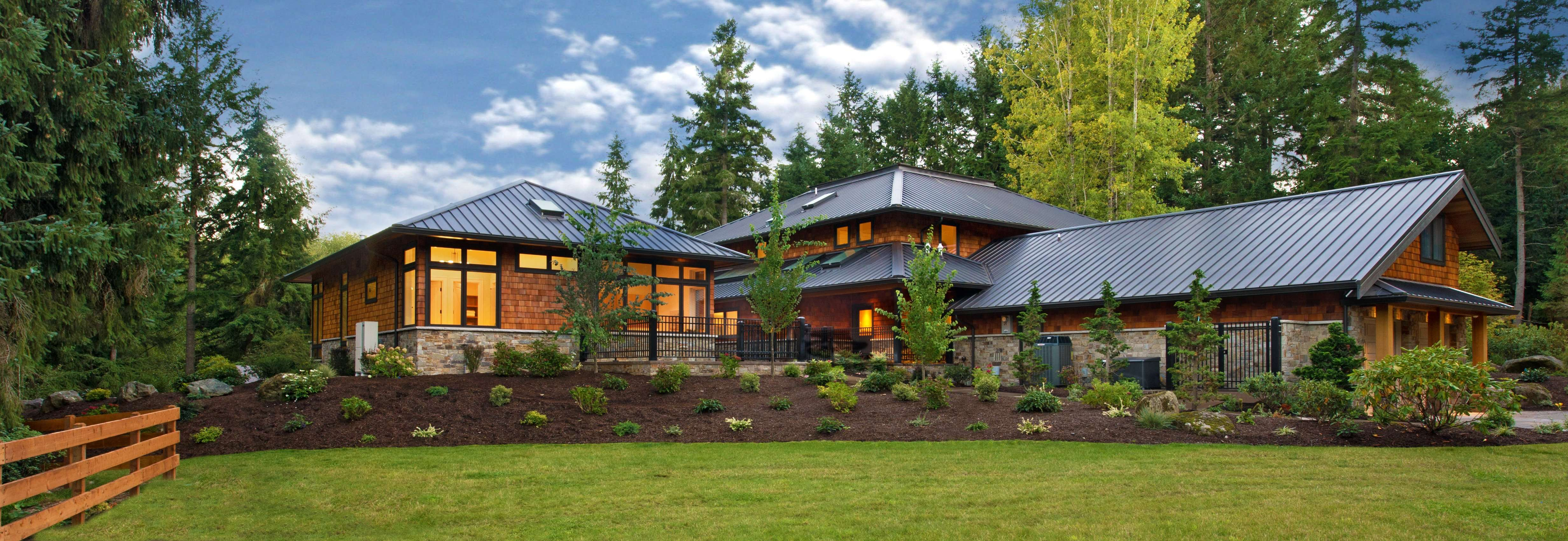 Gallery of residential architecture and interior design projects photographed by Seattle photographer Nick Felkey
